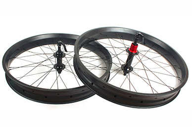 MTB Wheelset - 65mm wide 25mm FatBike carbon wheelset