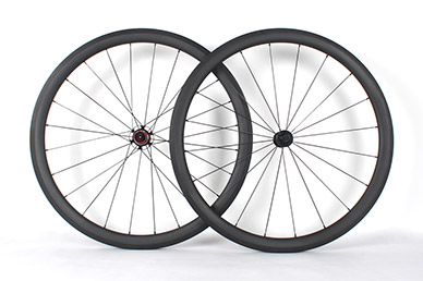 Road Wheelset - 27mm wide 40mm Carbon wheelset